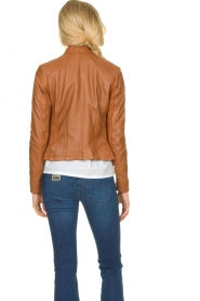 STUDIO AR BY ARMA |  Leather jacket Tuya | brown  | Picture 6