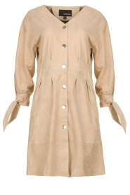 STUDIO AR BY ARMA | Suede dress Chemene | natural  | Picture 1