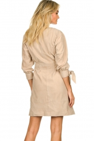 STUDIO AR BY ARMA | Suede dress Chemene | natural  | Picture 6