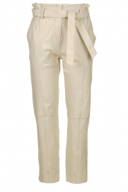 STUDIO AR BY ARMA | Leather pants Claire | natural  | Picture 1