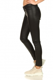 STUDIO AR BY ARMA |  Leather stretch pants Issie | black  | Picture 4