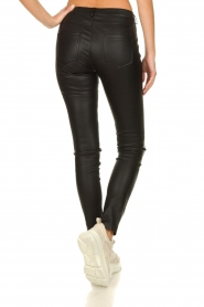 STUDIO AR BY ARMA |  Leather stretch pants Issie | black  | Picture 5