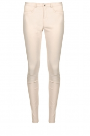 STUDIO AR BY ARMA | Leren stretch legging Issie | naturel  | Afbeelding 1