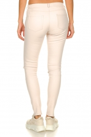 STUDIO AR BY ARMA | Leren stretch legging Issie | naturel  | Afbeelding 5