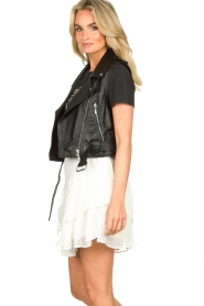 STUDIO AR BY ARMA |  Leather waistcoat Moon | black  | Picture 5