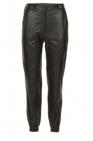 STUDIO AR BY ARMA |  Leather pants Peyton | black  | Picture 1