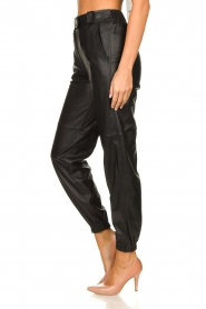 STUDIO AR BY ARMA |  Leather pants Peyton | black  | Picture 5