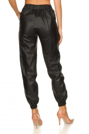 STUDIO AR BY ARMA |  Leather pants Peyton | black  | Picture 6