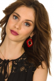 Miccy's |  Earrings Caviar | red  | Picture 2