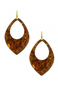 Miccy's |  Earrings Copper Segwin | brown  | Picture 1
