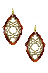 Miccy's |  Earrings Aziz | brown  | Picture 1