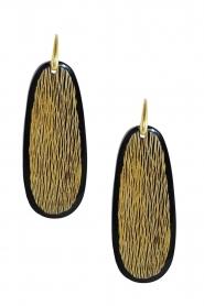 Miccy's |  Earrings Papaya | brown  | Picture 1