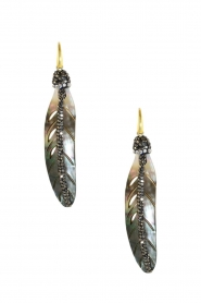Miccy's |  Earrings Mop Shell | grey  | Picture 1