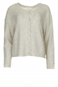 American Vintage |  Buttoned cardigan Damsville | grey  | Picture 1