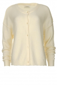 American Vintage |  Buttoned cardigan Damsville | natural  | Picture 1