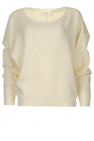 American Vintage |  Sweater with boat neckline Damsville | natural  | Picture 1
