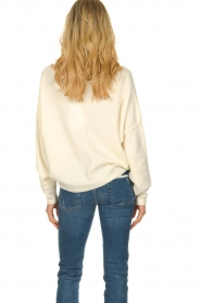 American Vintage |  Sweater with boat neckline Damsville | natural  | Picture 5