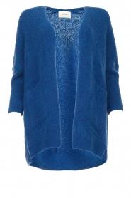 American Vintage |  Woollen cardigan Fogwood | blue  | Picture 1