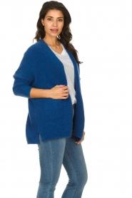 American Vintage |  Woollen cardigan Fogwood | blue  | Picture 4