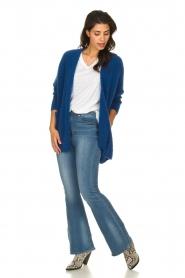 American Vintage |  Woollen cardigan Fogwood | blue  | Picture 3
