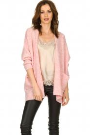 American Vintage    Woollen cardigan Fogwood   pink    Picture 2