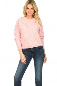 American Vintage |  Woollen sweater Fogwood | pink  | Picture 3