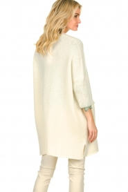 American Vintage |  Long cardigan from wool blend Vacaville | natural  | Picture 6