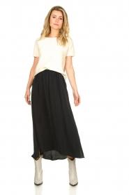 American Vintage |  Midi skirt Nonogarden | grey  | Picture 3