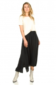 American Vintage |  Midi skirt Nonogarden | grey  | Picture 4