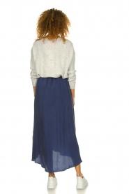 American Vintage |  Midi skirt Nonogarden | blue  | Picture 4