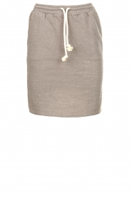 American Vintage |  Skirt with drawstring Eliotim | grey   | Picture 1
