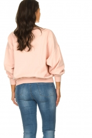 American Vintage |  Sweater with round collar Wititi | pink   | Picture 5