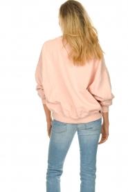 American Vintage |  Oversized sweatshirt Wititi | pink   | Picture 5