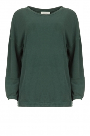 American Vintage |  Oversized sweater Hapylife | green   | Picture 1