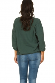 American Vintage    Oversized sweater Hapylife   green     Picture 5