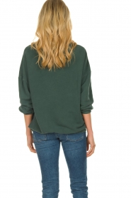 American Vintage |  Oversized sweater Hapylife | green   | Picture 4