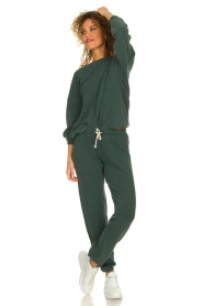 American Vintage |  Sweatpants with drawstring Hapylife | green   | Picture 3