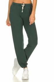 American Vintage |  Sweatpants with drawstring Hapylife | green   | Picture 2
