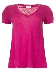 American Vintage |  Basic T-shirt Kobibay | pink  | Picture 1
