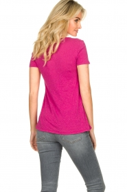 American Vintage |  Basic T-shirt Kobibay | pink  | Picture 6