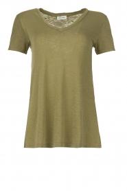 American Vintage |  Basic T-shirt Kobibay | green   | Picture 1