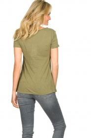 American Vintage |  Basic T-shirt Kobibay | green   | Picture 5