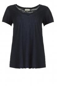American Vintage |  Basic T-shirt  Kobibay | dark blue  | Picture 1