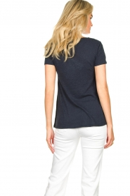 American Vintage |  Basic T-shirt  Kobibay | dark blue  | Picture 5