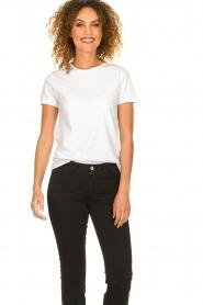 American Vintage |  Basic T-shirt Vegiflower | white   | Picture 2