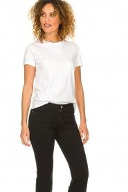 American Vintage |  Basic T-shirt Vegiflower | white   | Picture 3
