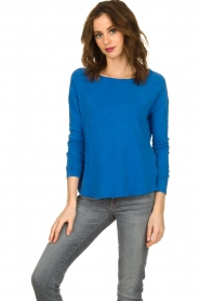 American Vintage |  Long sleeve Sonoma | blue   | Picture 2