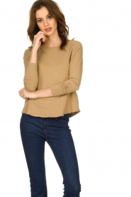 American Vintage |  Long sleeve Sonoma | camel   | Picture 6