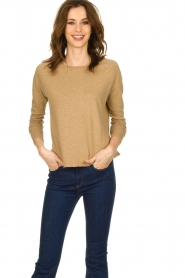 American Vintage |  Long sleeve Sonoma | camel   | Picture 2