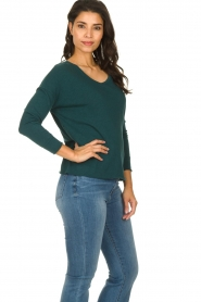 American Vintage |  Long sleeve Sonoma | dark green  | Picture 3